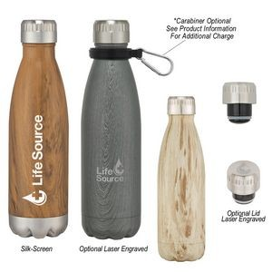16 Oz. Woodtone Swiggy Bottle