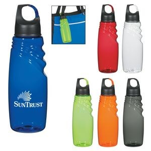 24 Oz. Crest Carabiner Sports Bottle