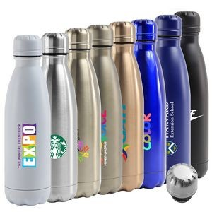 17 Oz. Atlantis Double Wall Stainless Steel Vacuum Insulated Bottle